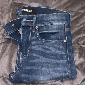 Express jeans (jeggings mid rise)